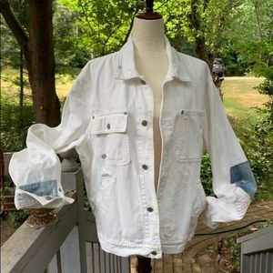 SOLD POLO Ralph Lauren Destroyed Denim Jacket